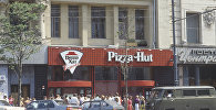 Пиццерия Pizza Hut в Москве.